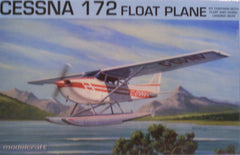 1/48 Cessna 172 floatplane civil model aircraft kit.