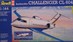 1/144 Challenger CL-604 civil model aircraft kit.