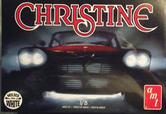 "1/25 AMT 1958 Plymouth ""Christine"" movie model car kit."