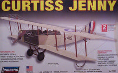 1/48 Curtiss Jenny model bi-plane kit.