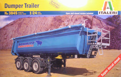 1/24 dumper truck trailer plastic model kit.