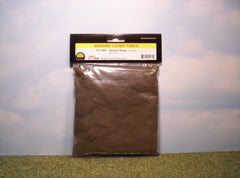 Coarse Golden Straw scenic turf for dioramas & slot car layouts.