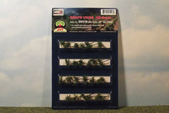 "HO grape vines. 7/8"" tall, 24 pack for dioramas & slot car scenery."