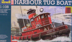 1/108 Harbour Tug Boat plastic model ship kit.