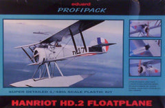 1/48 WW 1 Hanriot HD.2 float plane military model kit.