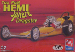 "1/25 Top Fuel ""Hemi Sphere"" dragster model car kit."