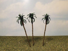"1/72 scale 4"" palm trees suitable for North African dioramas."