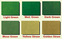 Moss green scenic grass mat for dioramas or display bases.