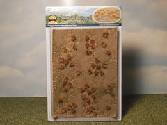 JTT Golden Grassland Tuffs for dioramas & slot car scenery.