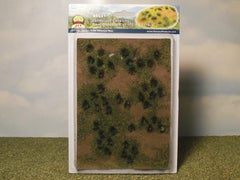 JTT Green Gresslands Tuffs for dioramas & slot car scenery.
