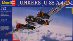 1/72 JU 88 A-4/D-1 German fighter/bomber model aircraft kit.