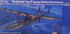 1/144 Kawanishi Type 97 Flying Boat military model aircraft kit.