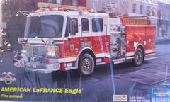 1/25 U.S. LaFrance Eagle fire truck model kit.