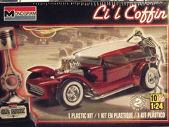 1/24 Li'l Coffin Custom Hot Rod model car kit.
