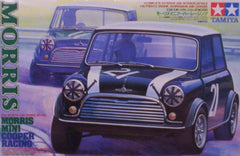 1/24 Morris Mini Cooper racing car model kit.