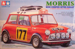 1/24 Morris Mini Cooper rally model car kit.