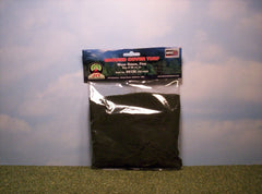 Fine Moss Green scenic turf for dioramas & slot car layouts.
