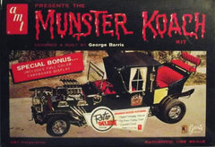 1/25 Munster Koach plastic model car kit from T.V. Munsters show.