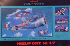 1/48 WW 1 Nieuport Ni 17 ProfiPack model aircraft kit.