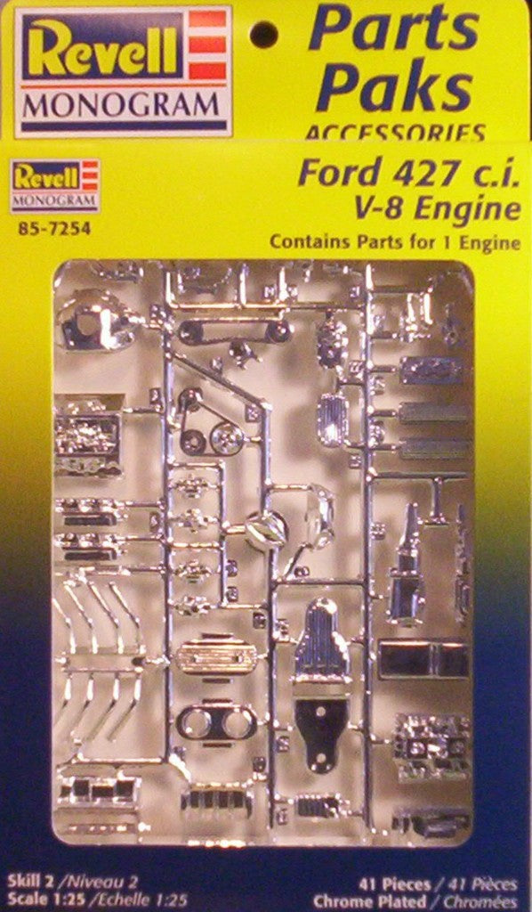 Image result for revell parts pack ford 427