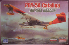 1/144 PBY-5A Catalina Air/Sea Rescue model aircraft kit.