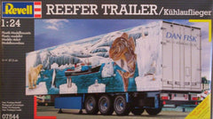 1/24 Reefer Trailer plastic model truck kit.