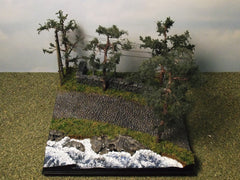 "1/72 military diorama kit ""Road By The Lake""."