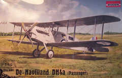 1/48 De Havilland DH4a passenger biplane model kit.
