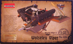 1/32 Wolseley Viper aircraft engine model kit.