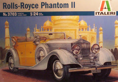 1/24 1934 Rolls Royce Phantom II plastic model car kit.