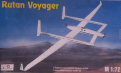 1/72 scale Rutan Voyager civil aircraft model kit.