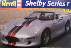 1/25 Shelby Series 1 sports car model kit.