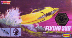 "1/128 ""The Flying Sub"" science fiction model kit."
