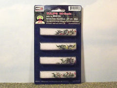 "HO Tulips. 1/2"" tall 48 pack for dioramas & slot car scenery."