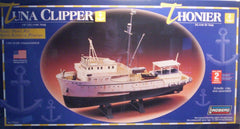 1/60 scale Tuna Clipper display model boat kit.