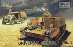 1/72 WW 2 Universal Carrier 1 Mk. 1 AFV military model kit.