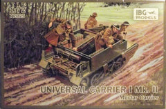 1/72 WW 2 Universal Carrier 1 Mk. 2 AFV military model kit.