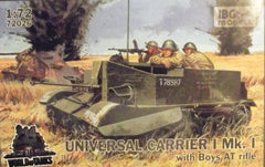 1/72 WW 2 Universal Carrier 1 MK 1 with Boys AT rifle.