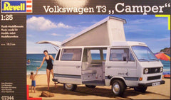 1/25 VW T3 Camper model truck kit.