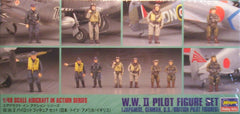 1/48 WW 2 plastic pilot figure set.