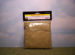 Coarse Yellow Straw scenic turf for dioramas & slot car layouts.