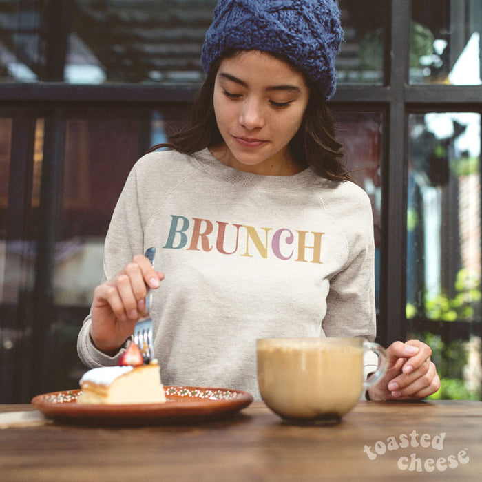Colorful Brunch French Terry Sweatshirt