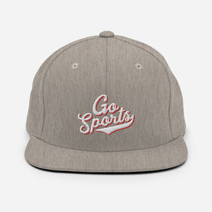 Go Sports Wool Blend Ball Cap