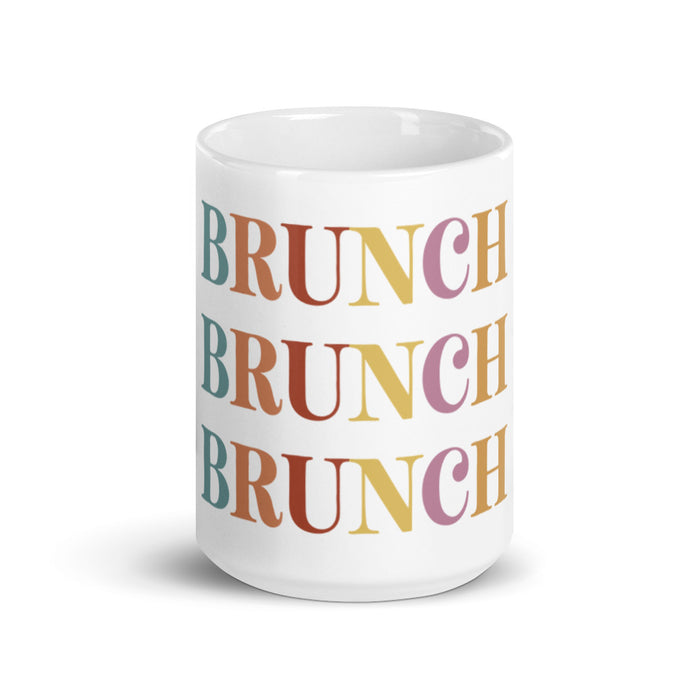 Colorful Brunch Mug