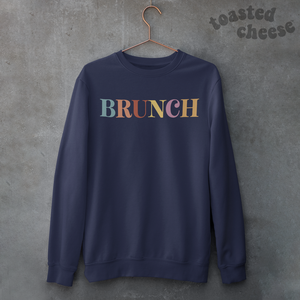 Colorful Brunch Toasty Sweatshirt
