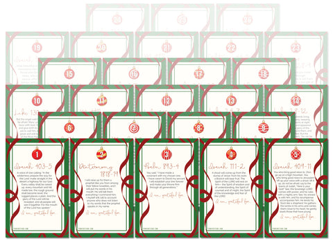 50% Off Advent Scripture + Gratitude Printables Taken at Checkout - PinkFortitude