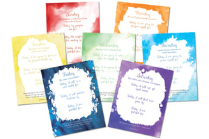Daily Scripture + Gratitude Affirmation Printables - PinkFortitude