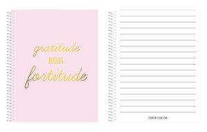 Lined Journal - Pale Pink - PinkFortitude