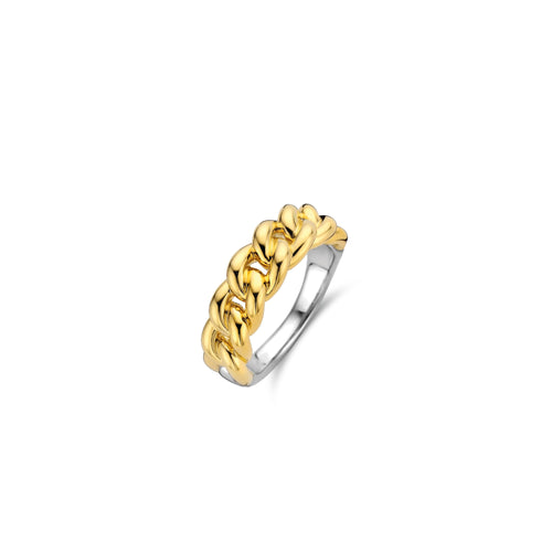 Ti Sento Cuban Chain Ring