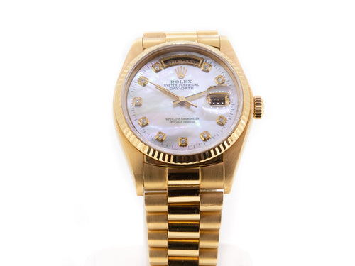 Rolex Day-Date President -36mm 18k Yellow Gold